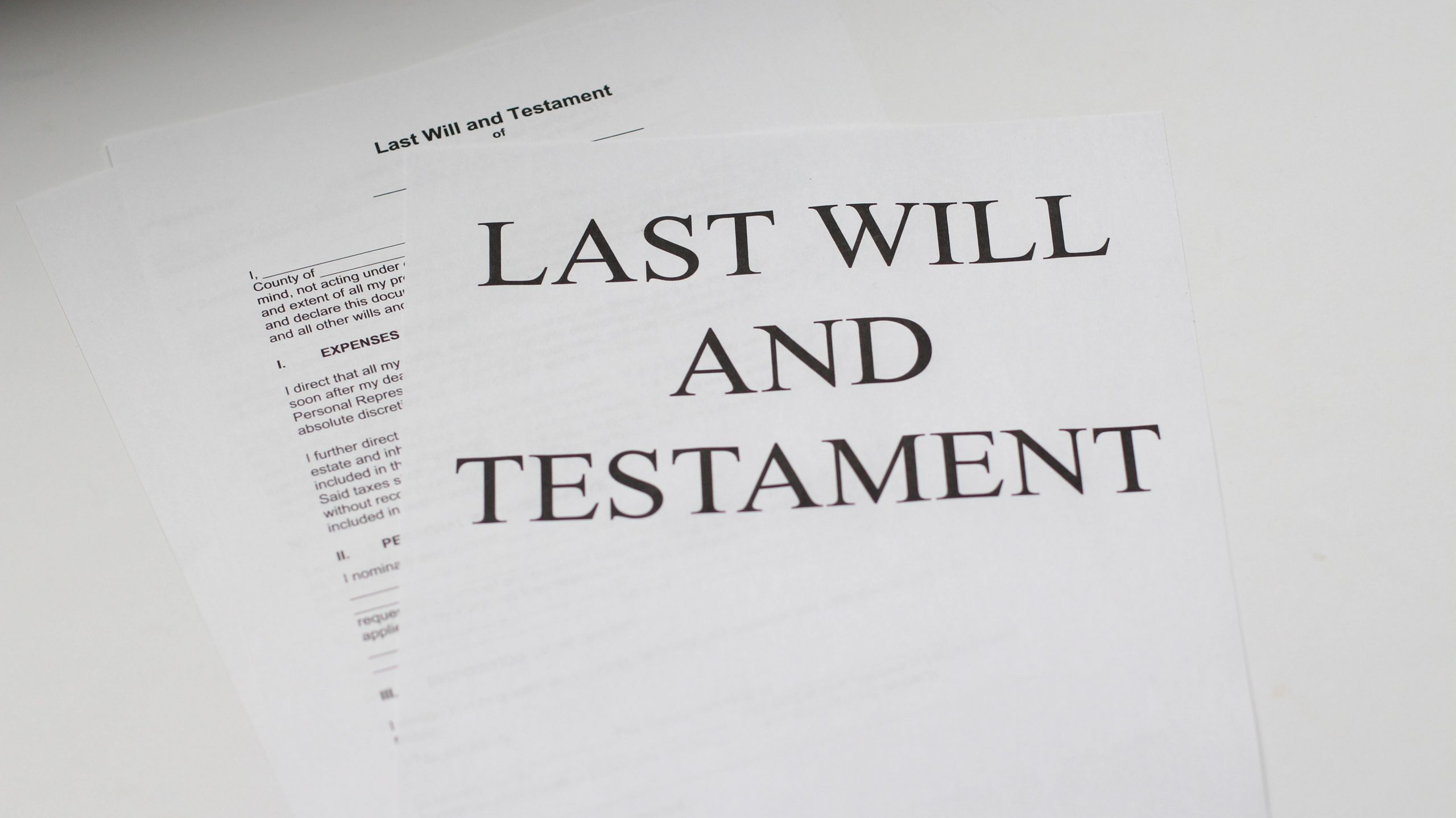 What Happens to your Assets if you Die Without a Will?
